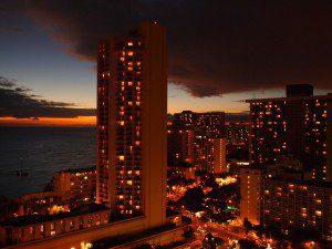 26階のホテルからの眺めは最高でした